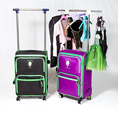 Dance Bag With Garment Rack Stunning Amazon Dance Bag With Garment Rack Black Travel Duffels