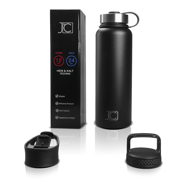 John Cole Trinkflasche 1 Liter Auslaufsichere Thermosflasche Aus ...