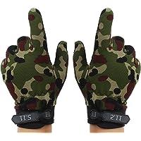 Aivtalk piel sintética guantes de pesca deportes al