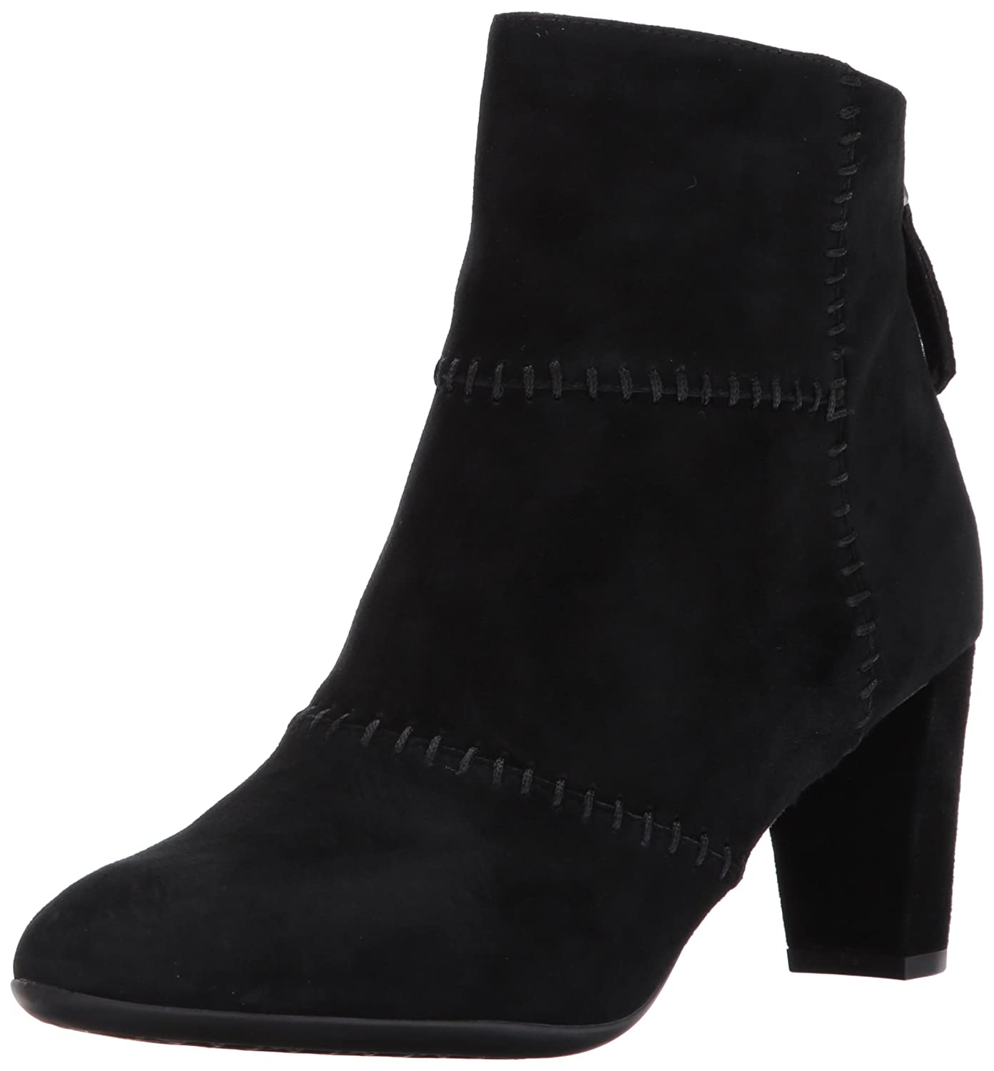 Aerosoles Women's First Ave Ankle Boot B06Y62M9YW 9 B(M) US|Black Suede