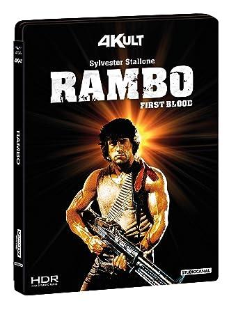 Rambo (Blu-Ray 4K+Blu-Ray) [Italia] [Blu-ray]: Amazon.es: David Caruso, Richard Crenna, Brian Dennehy, Jerry Goldsmith, Sylvester Stallone, Ted Kotcheff, David Caruso, Richard Crenna: Cine y Series TV