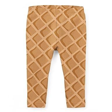 300e9db164c579 Amazon.com: Icecream Waffle Cone Kids Leggings: Clothing