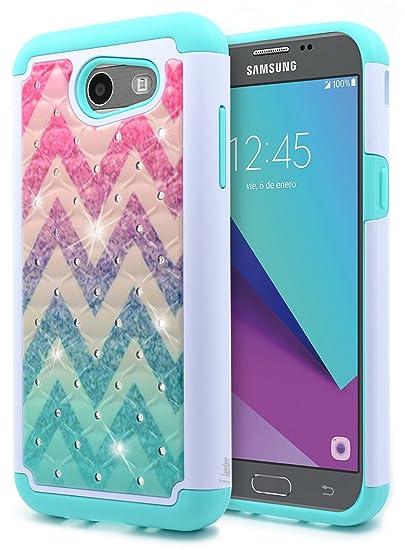 c00a358ea396a Amazon.com  Galaxy J3 Luna Pro Case
