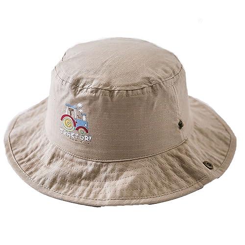 Cappelli da Pescatore Cappello Cloche Bambine Ragazzi Stampa Rurale Estate Cappelli da Sole