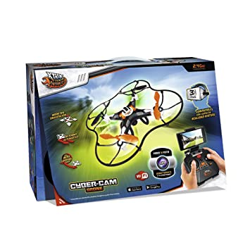 World Brands Xtrem Raiders-Cyber CAM Drone: Amazon.es: Juguetes y ...