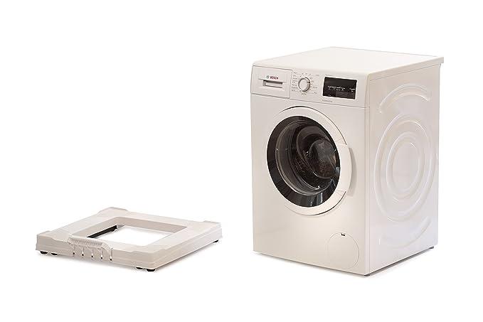 Soporte de plástico con ruedas para lavadora, de Easy Slider