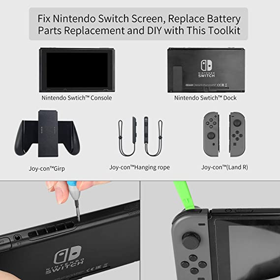 Triwing Screwdriver for Nintendo Switch, Repair Tool Kit for Joy-con  Nintendo Switch Battery Replacement, DIY on your Console Controller