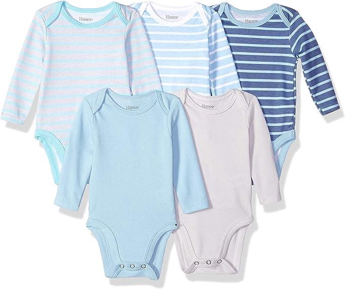 Hanes Ultimate Baby Flexy Bodysuits