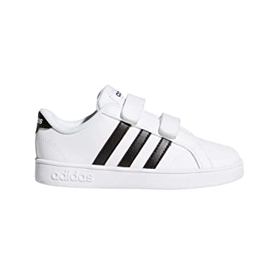 best sneakers 66998 7291b adidas Baseline CMF Inf Chaussons Mixte bébé, Blanc Negbas FTW Bla 000, 19