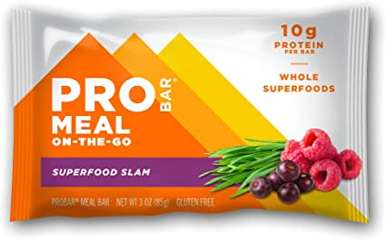Amazon Com Probar Meal Bar Superfood Slam Non Gmo Gluten Free Certified Organic Healthy Plant Based Whole Food Ingredients Natural Energy 9 Count Health Personal Care