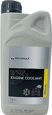 Original Renault Frostschutz Kühlerfrostschutz 1 Liter Glaceol Rx Type D Grün Auto