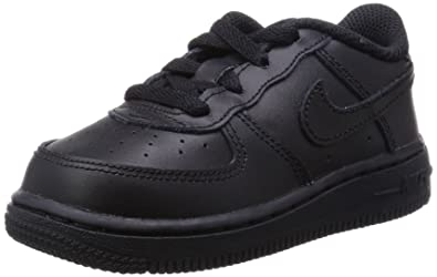 [314194 009] Nike AIR Force 1 TD Infants Shoes Black
