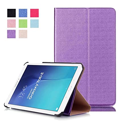 sale retailer ed6b5 e7593 Samsung Galaxy Tab E 9.6 Case Leather,Samsung T561 Protective Cover,Samsung  Tablet Cover,Samsung 9.6 inch Tablet Case,Slim Flip Cover for Samsung ...
