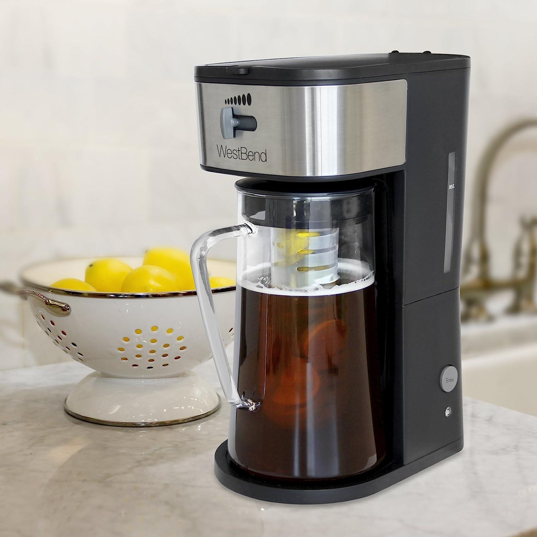 West Bend IT500 máquina para hacer té helado o café helado incluye ...