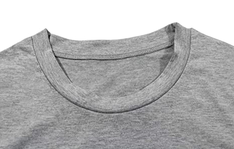 Amazon.com: Camiseta de manga corta con diseño de cabeza de ...