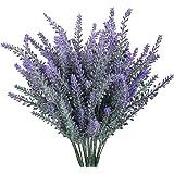 WINOMO 4pcs artificiale floccato lavanda mazzo viola fiori nuziali casa giardino fai da te ufficio decorazione di nozze