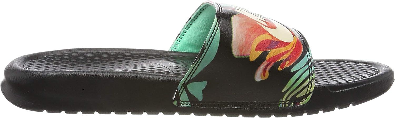Nike WMNS Benassi JDI Print Chaussures de Plage & Piscine Femme ...