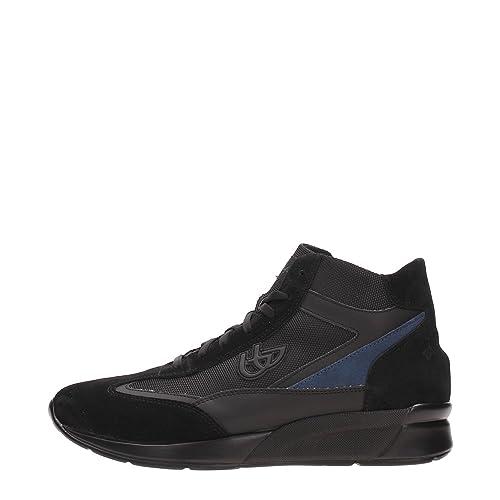 Blu Byblos 667262 Sneakers Uomo Crosta Nero Nero 45  Amazon.it  Scarpe e  borse 1e6b661db22