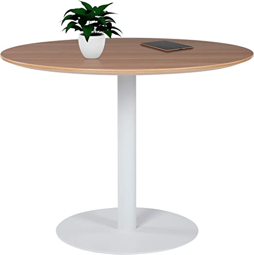 pedestal bistro cafe meeting canteen office banquet dining round table chairs wb