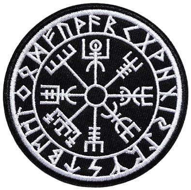 Vikings Calendrier.Ecusson Arbre De Vie Bouclier Calendrier Chance Sante Celte Breton Celte Celtique Viking Rune 9cm