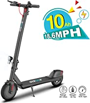 Gyroor Electric Scooter for Adults, 380W 20 Miles Long-Range Battery, Up to 18.6 MPH, 8.5