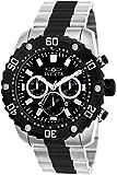 Invicta Men's 'Pro Diver' Quartz Stainless Steel Casual Watch, Color:Two Tone (Model: 22521)