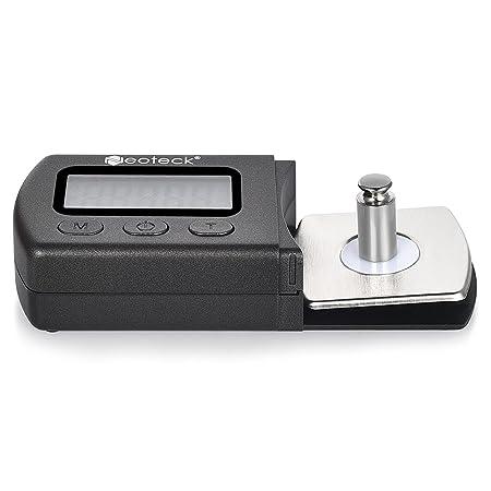 Neoteck Probador de fuerza de tocadiscos con retroiluminación LCD ...