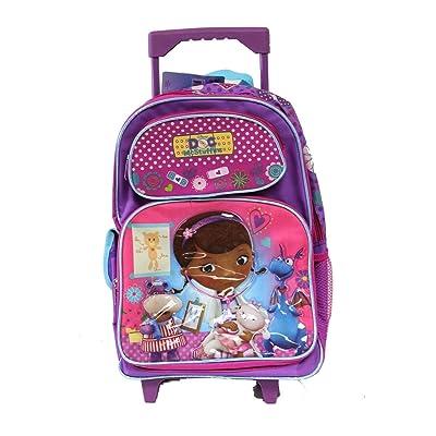DOC MCSTUFFINS Large Rolling Backpack - Licensed Product