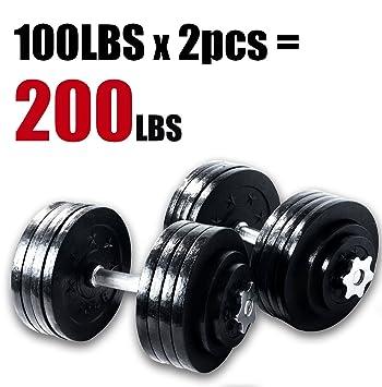 Unipack Ltd Protagonizada por 65 105 200 kg Ajustable Mancuernas ...