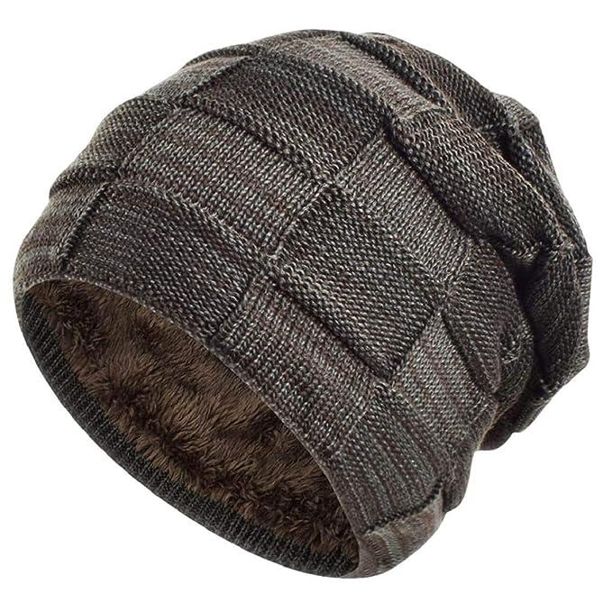 heekpek Gorras con Bufanda Gorro de Punto Sombreros de Invierno ...