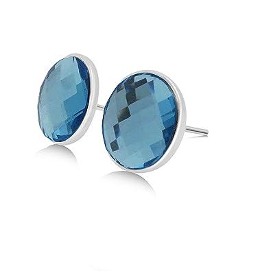 69877221e Swarovski Crystal Stud Earrings - 10mm Navette Set; 15X Premium Rhodium  'White Gold'