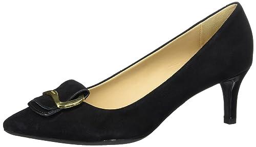 Negro Zapatos Para 38 De black D Elina Eu A Tacón Geox Mujer AqgaTw4
