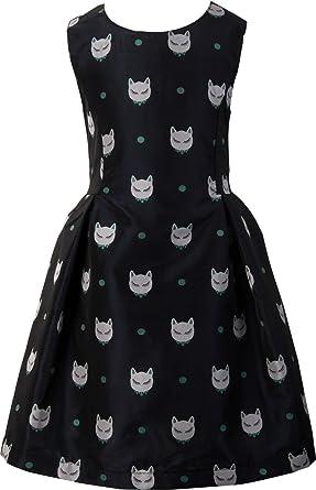 Ipuang Ipuang Mädchen Fox-Punkt-Doppeldruck-Kleid Kleider: Amazon.de ...