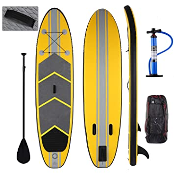 Profun Tabla Hinchable Paddle Surf Tabla de Surf SUP Set Stand Up Paddle Surf Board de