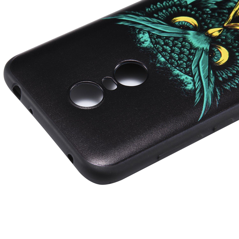 La Nueva Ultra Delgada Suave TPU Silicona Caso Pintado 3D Alivio Patr/ón Proteccion C/áscara Trasera para Xiaomi RedMi Note 5A Tiga Shopping Funda Xiaomi RedMi Note 5A Musica dinamica
