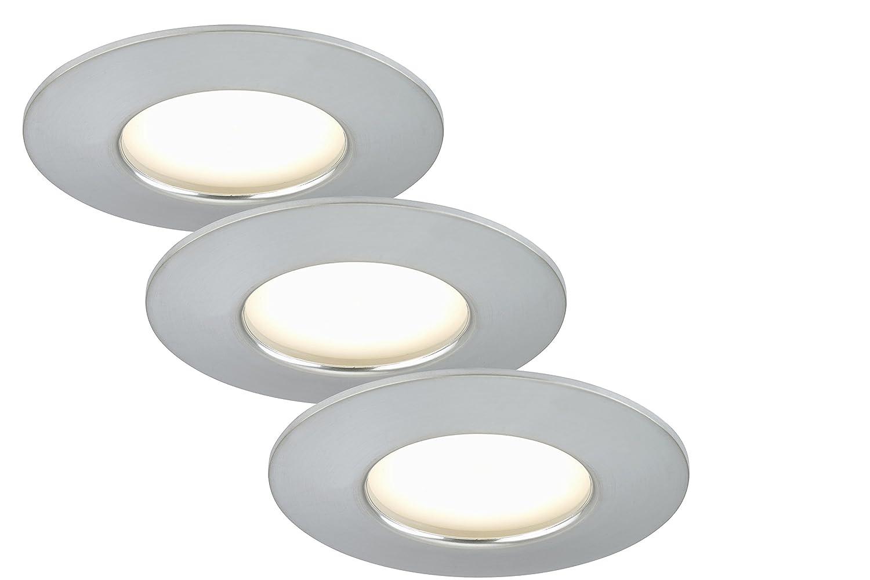 Briloner Leuchten 7204-039 LED Einbauleuchte, Einbaustrahler, LED ...