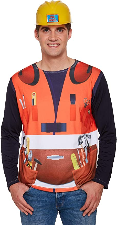 Fancy Me Disfraz de Constructor de construcción para Hombre ...