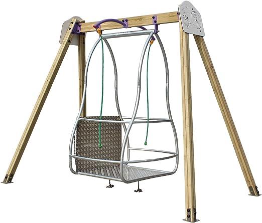 kidunivers – Columpio especial silla con ruedas (niños y adultos: Amazon.es: Jardín