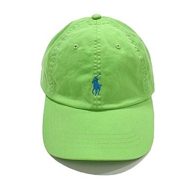 60ca4bca07b3d Polo Ralph Lauren Men s Unisex Pony Logo Baseball Hat Cap Oasis Green