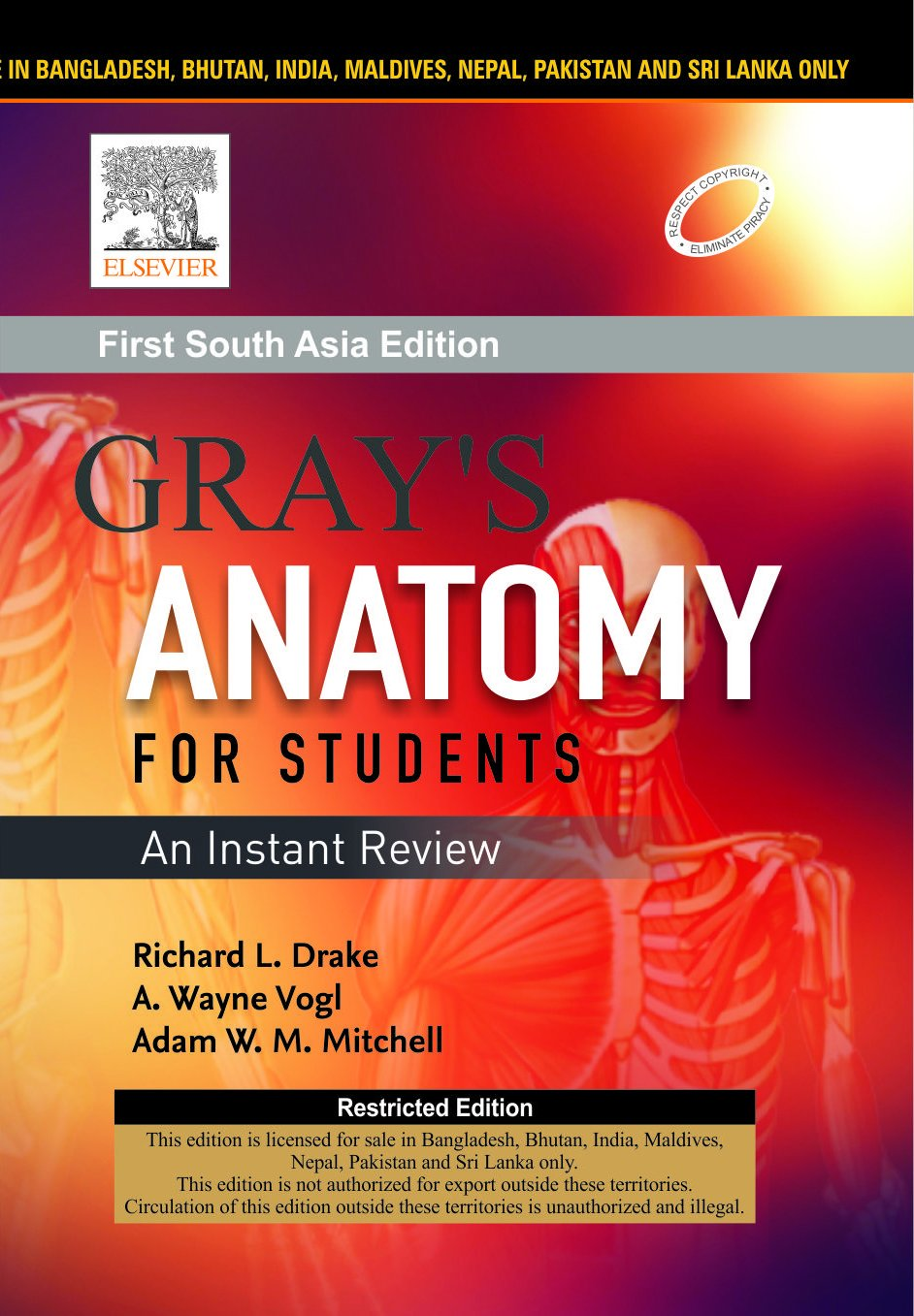 Buy Gray\'s Anatomy for Students : An Instant Review First South Asia ...