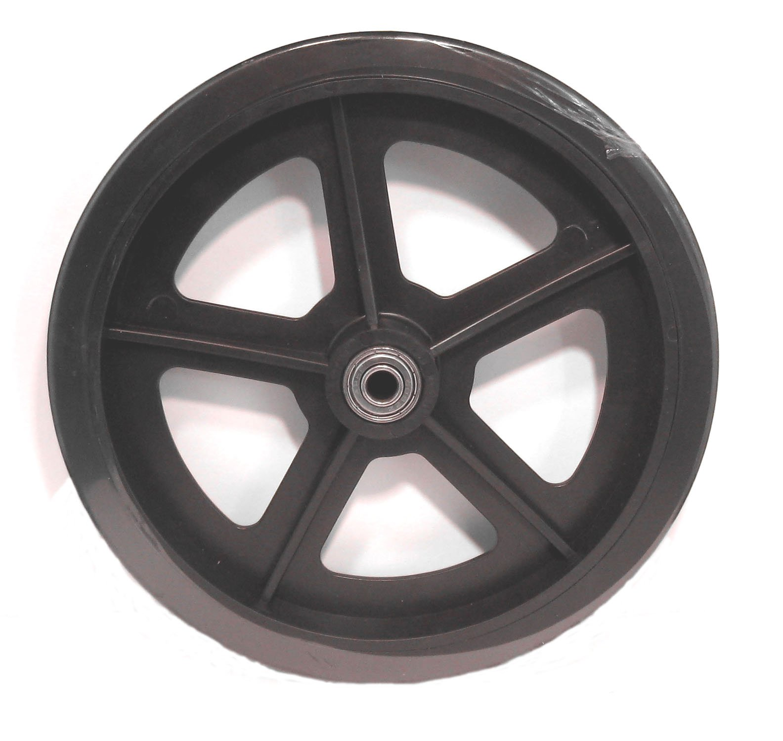 Roscoe Replacement Wheel 8 inch with Bearing Black - Part 90657 for Bariatric Rollator