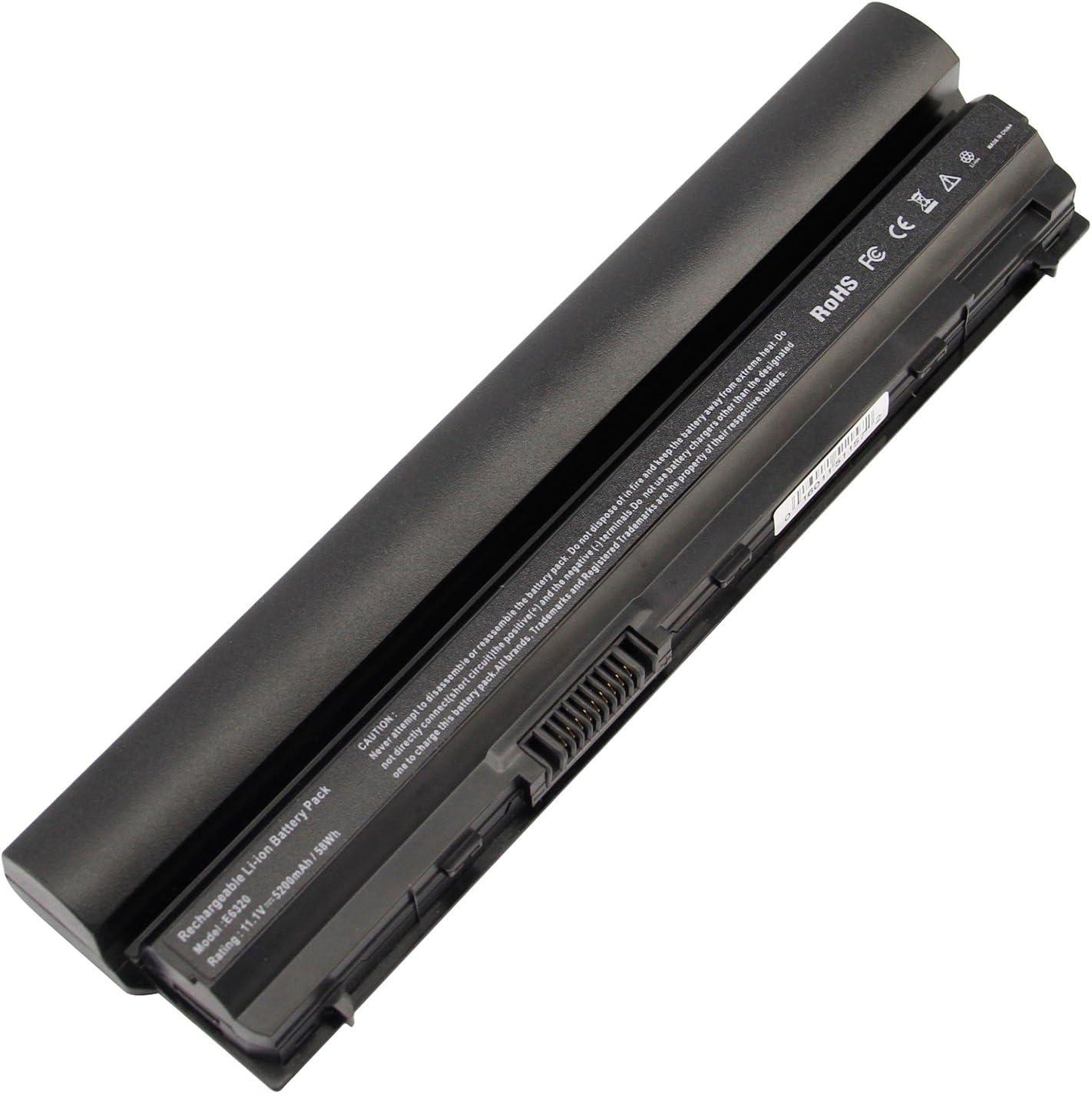 Futurebatt Performance Laptop Battery Replacement for Dell Latitude E6120 E6220 E6230 E6320 E6320xfr E6330 E6430s Series, p/n 312-1241 312-1242 FRROG [Li-ion 11.1v 5200mah]-18 Months Warranty