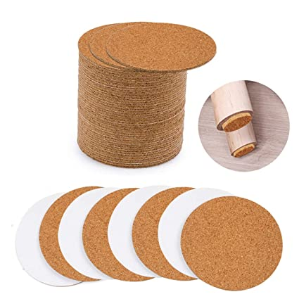 Amazon Com Pamiso Cork Coasters 4 X 4 Inches Self