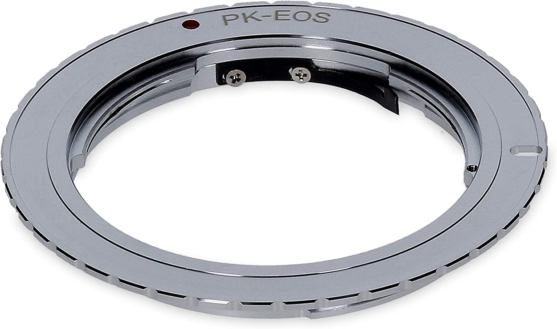 Adaptador para objetivo Pentax K de la cámara Canon EOS de Berlin ...