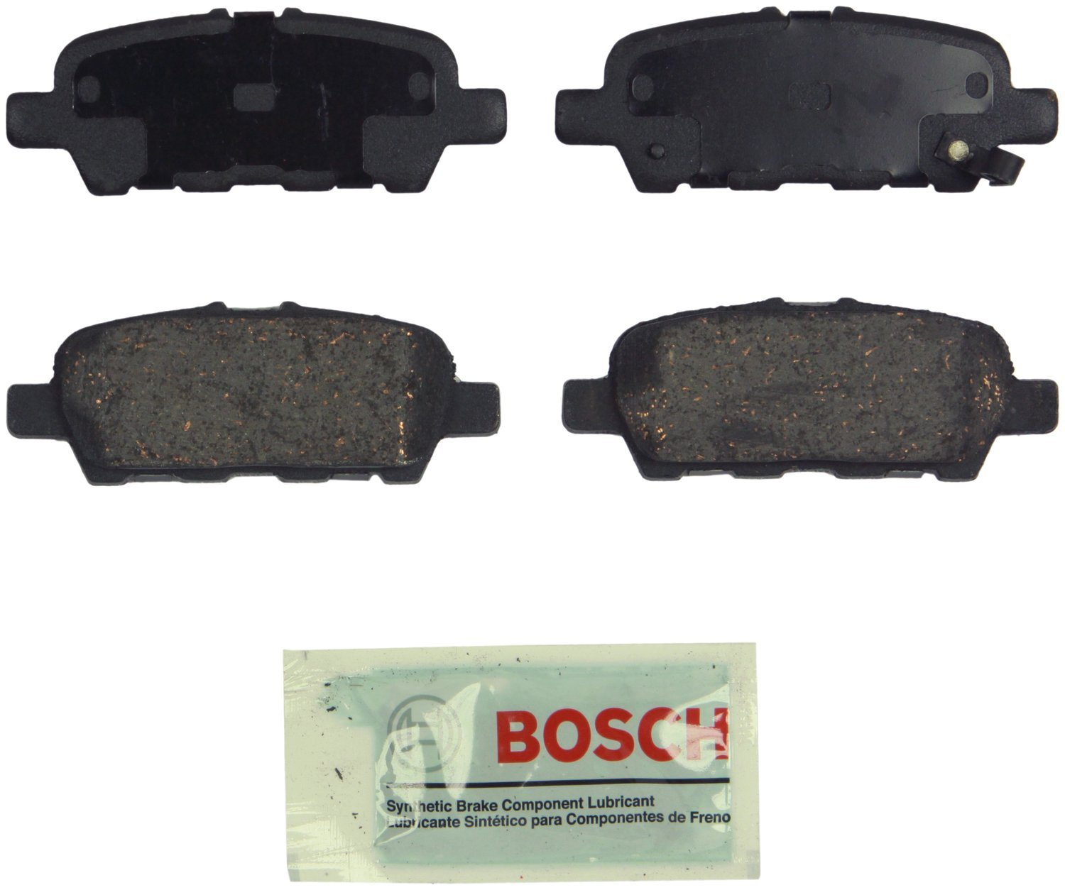 Bosch BE905H Blue Disc Brake Pad Set with Hardware