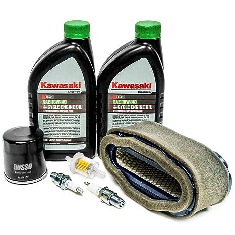 Amazon.com : Engine Service Kit with OEM Kawasaki Oil 99969 ... on