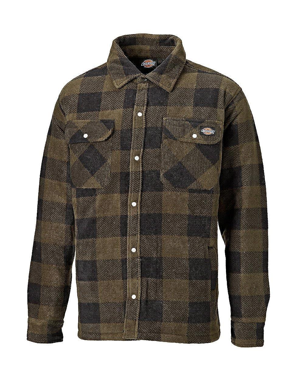 Dickies Shirt Portland Hemd Khaki-M SH5000