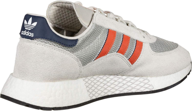 Adidas Marathon Tech White Active Orange Navy Bleu Marine/Orange/Blanc