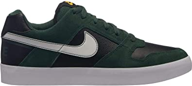big sale 7b25a b6228 Nike SB Delta Force Vulc, Chaussures de Fitness Homme, Multicolore  (Midnight Green Black