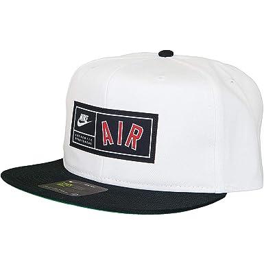 Nike - Gorra de béisbol - para Hombre Negro/Blanco Talla única ...